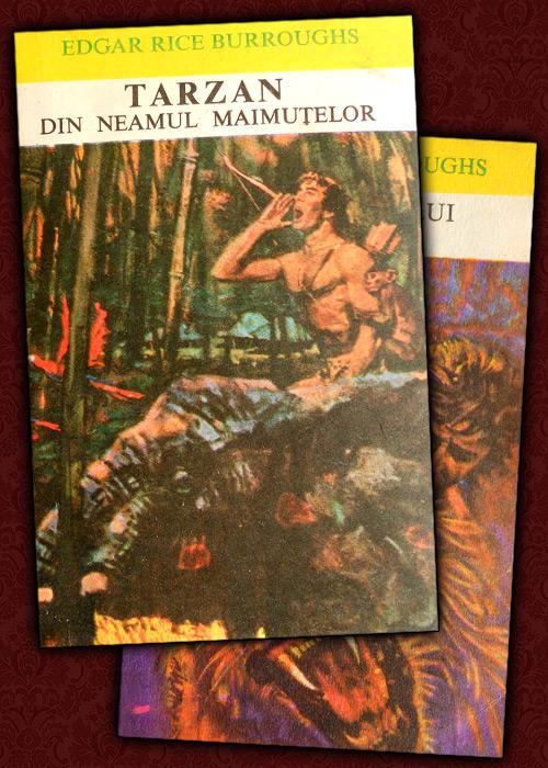 Tarzan din neamul maimutelor / Intoarcerea lui Tarzan (2 vol.) - Edgar Rice Burroughs