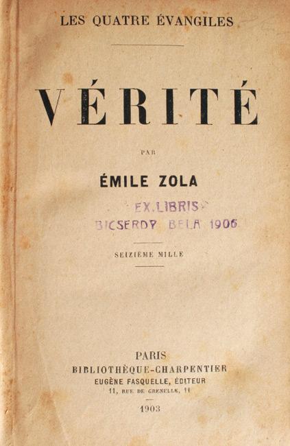 Verite (editia princeps