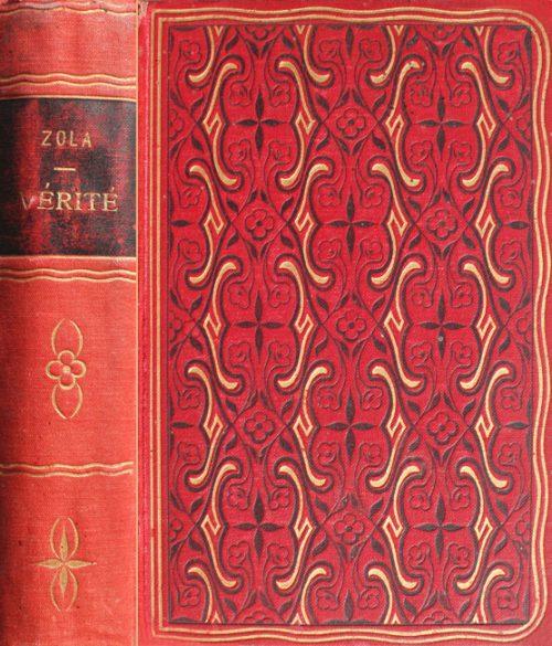 Vérité, par Émile-Zola, premiere edition
