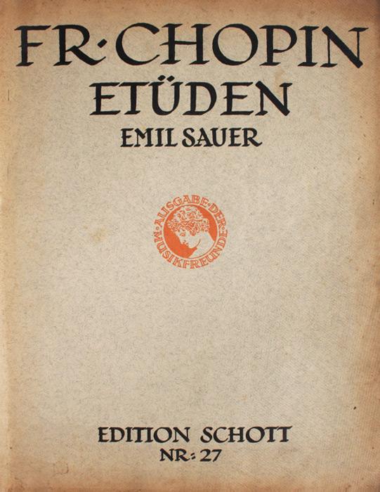 Chopin: Etuden (partituri) - Frederic Chopin