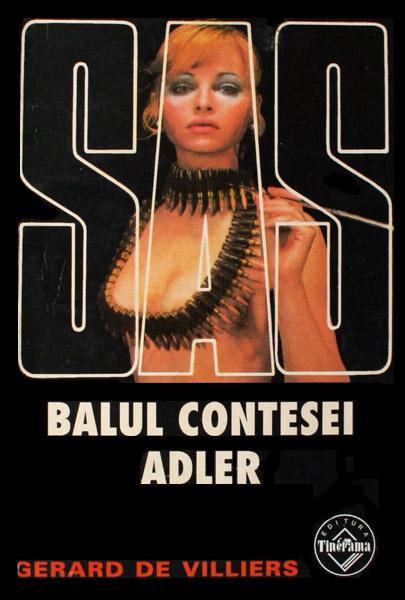 SAS: Balul contesei Adler - Gerard de Villiers