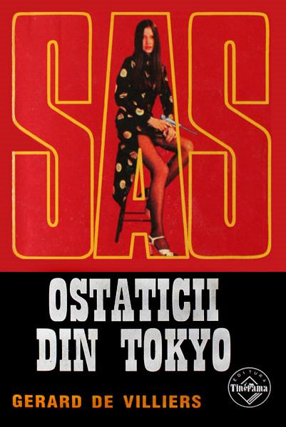 SAS: Ostaticii din Tokyo - Gerard de Villiers