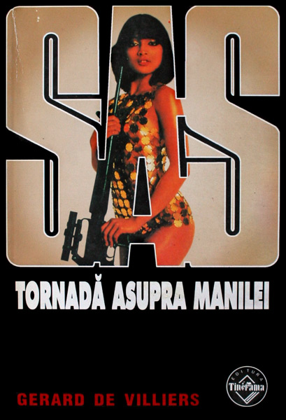 SAS: Tornada asupra Manilei - Gerard de Villiers