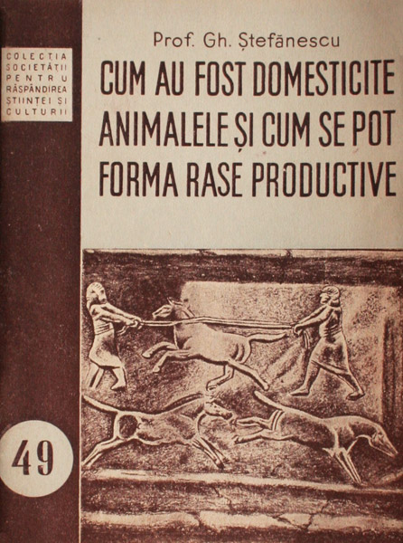 Cum au fost domesticite animalele si cum se pot forma rase productive - Gh. Stefanescu