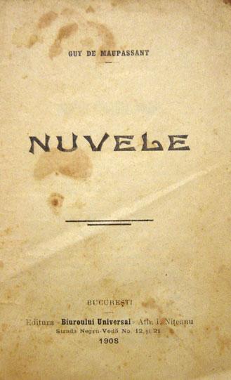 Nuvele - Guy De Maupassant