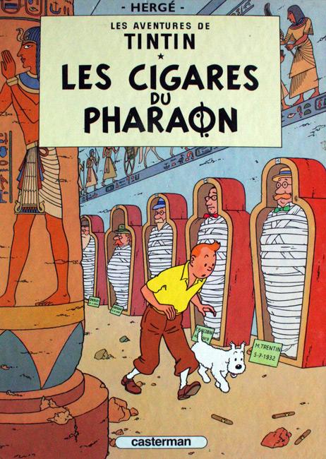 Les aventures de Tintin. Les cigares de pharaon - Herge
