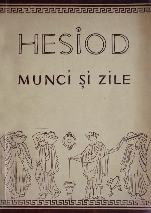 Munci si zile - Hesiod