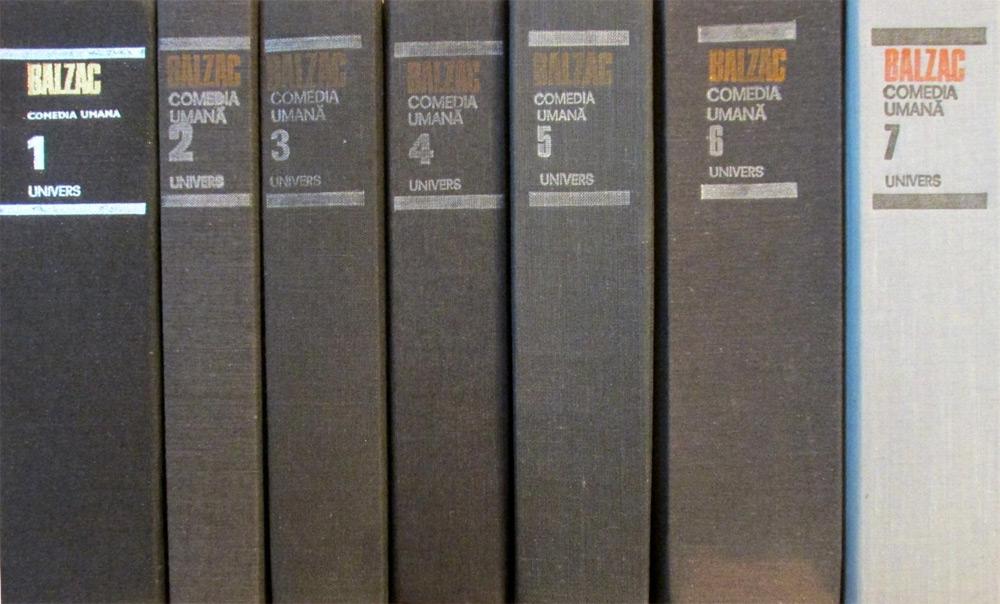 Comedia umana (8 vol.) - Honore de Balzac