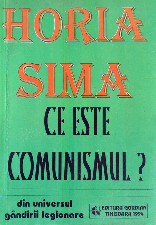 Ce este comunismul - Horia Sima