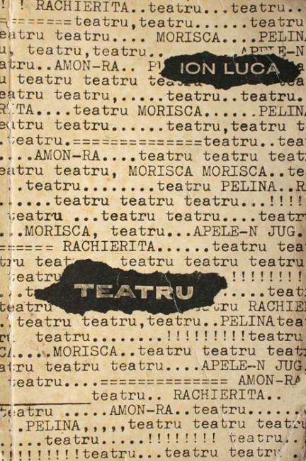 Teatru - Ion Luca