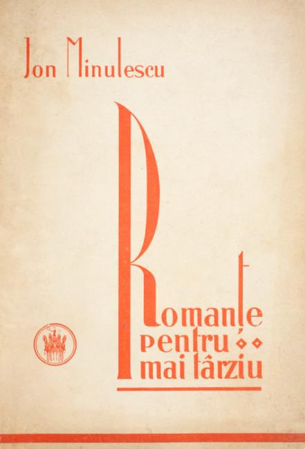 Romante pentru mai tarziu (editia definitiva