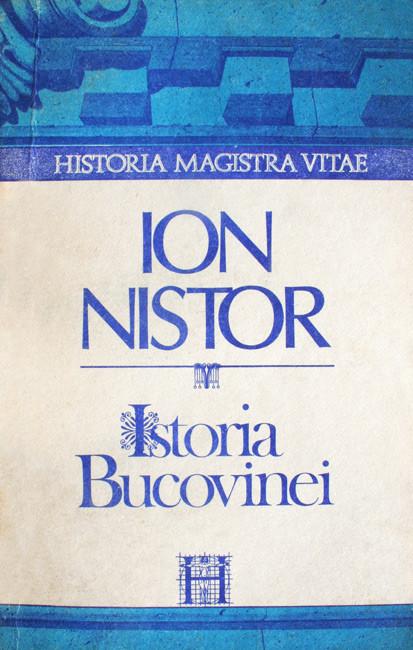Istoria Bucovinei - Ion Nistor