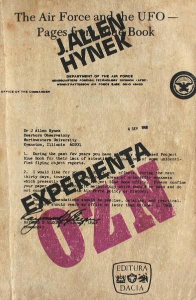 Experienta OZN. O cercetare stiintifica - J. Allen Hynek