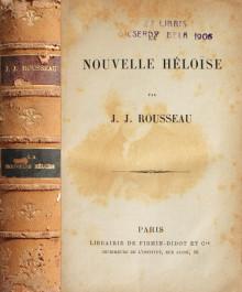 Nouvelle Heloise (1843) - Jean-Jacques Rousseau