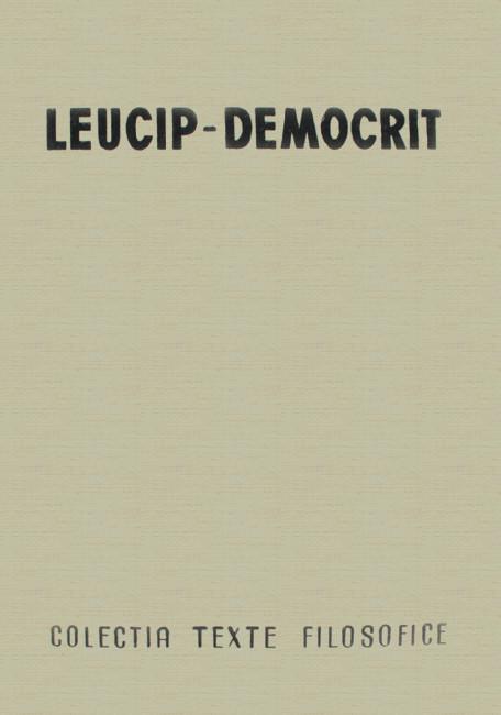 Fragmente - Leucip