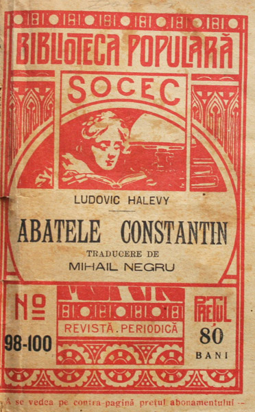 Abatele Constantin - Ludovic Halevy