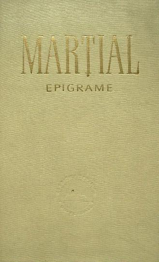 Epigrame - Martial