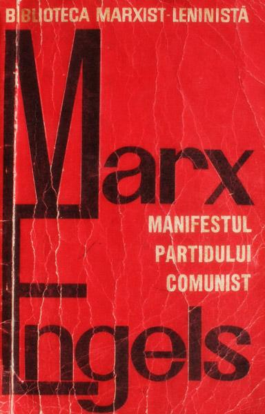 Manifestul partidului comunist - Marx / Engels