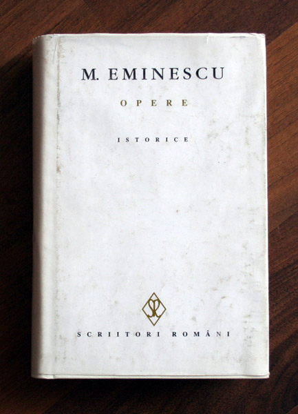 Opere istorice - Mihai Eminescu