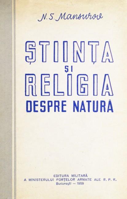 Stiinta si religia despre natura - N.S. Mansurov