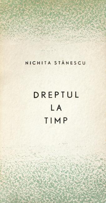 Dreptul la timp (editia princeps