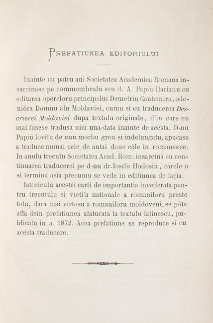 Operele principelui Demetriu Cantemiru