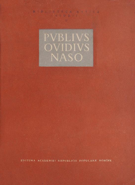 Publius Ovidius Naso -
