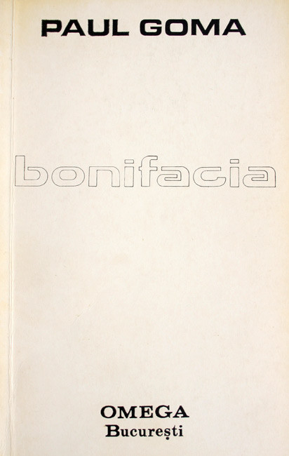 Bonifacia - Paul Goma