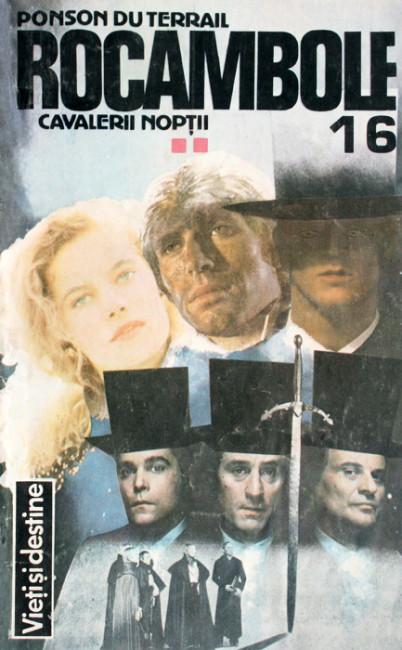Rocambole: Cavalerii noptii (3 vol.) - Ponson Du Terrail