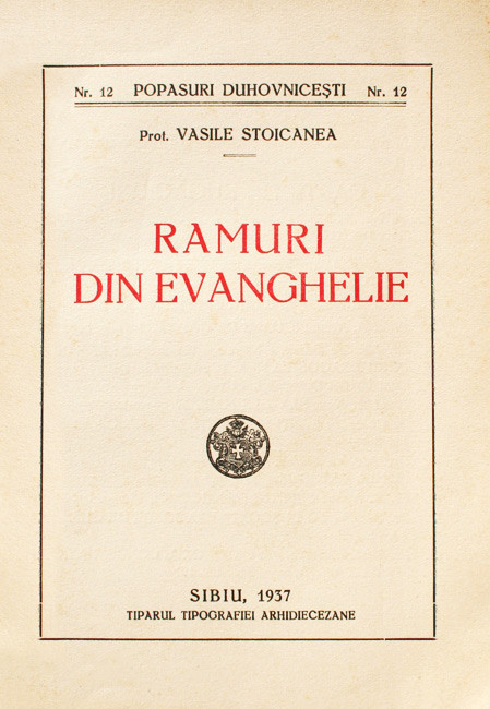 Ramuri din Evanghelie (editia princeps