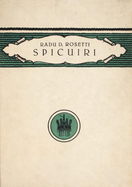 Spicuiri (editia princeps