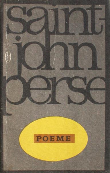 Poeme - Sain-John Perse