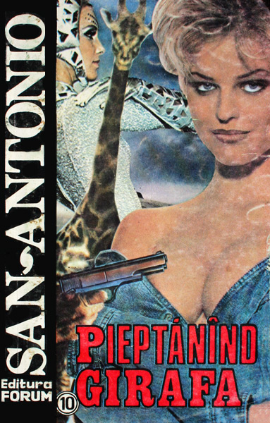 Pieptanand girafa - San-Antonio