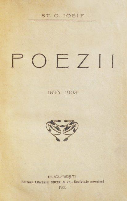 Poezii (editia princeps