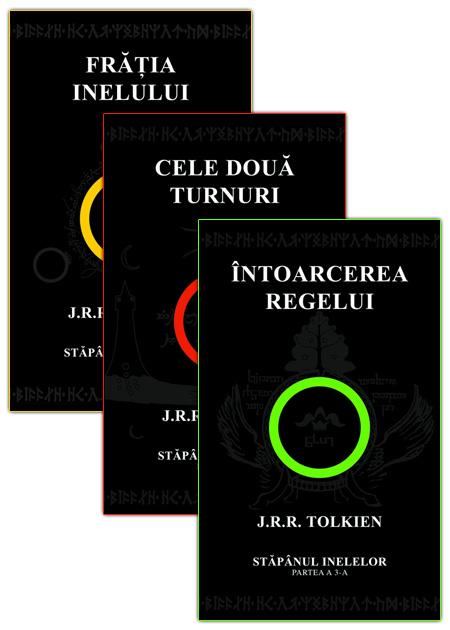 Trilogia Stapanul Inelelor (3 volume) - J.R.R. Tolkien