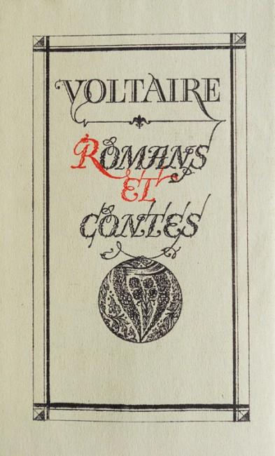 Romans et Contes - Voltaire