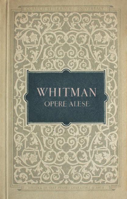Opere alese - Walt Whitman