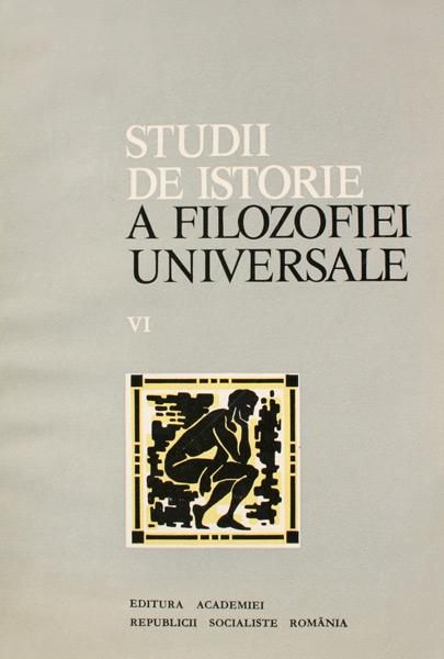 Studii de istorie a filozofiei universale -