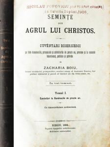 Seminte din agrul lui Christos (editia princeps